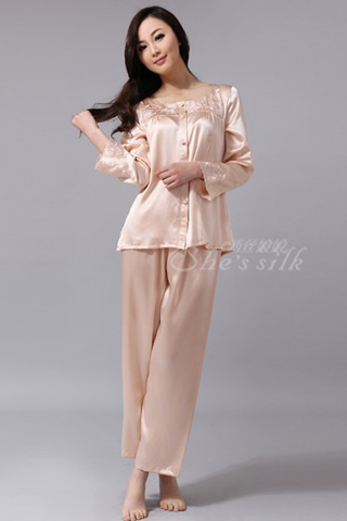 silk pyjamas for women